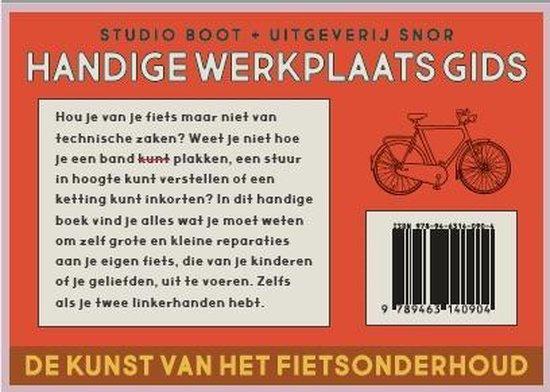 Fiets   de werkplaats manual 9789463140904 Studio Boot Snor   Fietsgidsen Reisinformatie algemeen