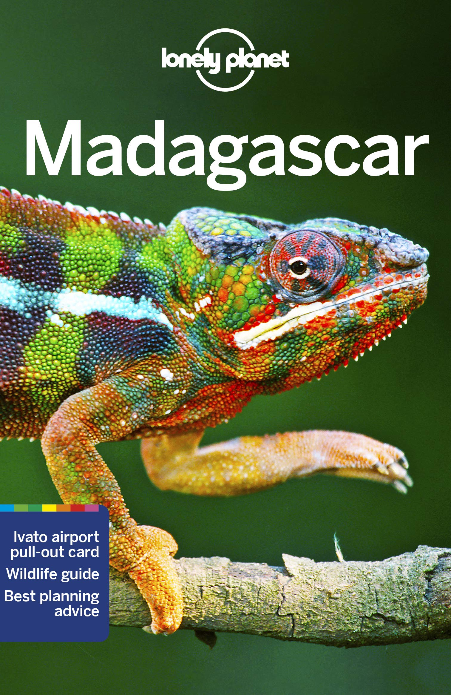 Lonely Planet Madagascar 9781786576026  Lonely Planet Travel Guides  Reisgidsen Madagascar