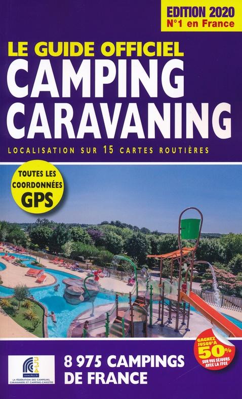 FFCC campinggids Frankrijk 2020 9782380770049  FFCC   Campinggidsen Frankrijk