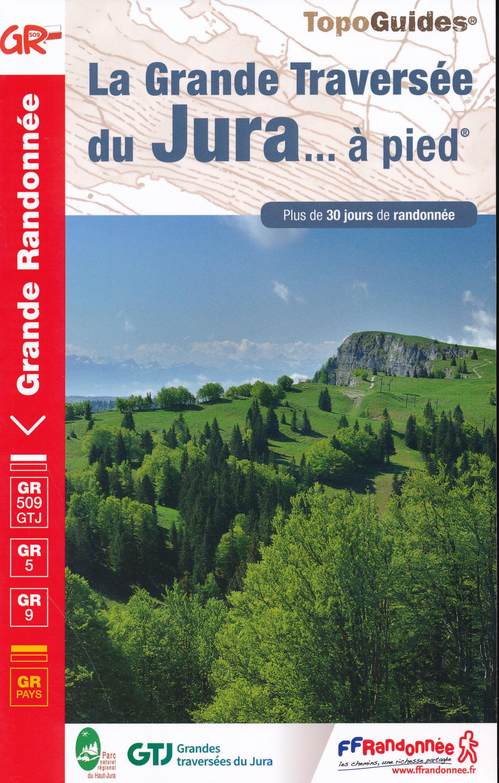 GR-5 | TG512  Grande Traversée du Jura | wandelgids GR5 9782751403163  FFRP Topoguides  Meerdaagse wandelroutes, Wandelgidsen Franse Jura