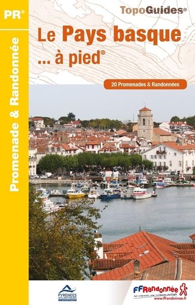 P642  Le Pays Basque | wandelgids Baskenland 9782751408311  FFRP Topoguides  Wandelgidsen Baskenland