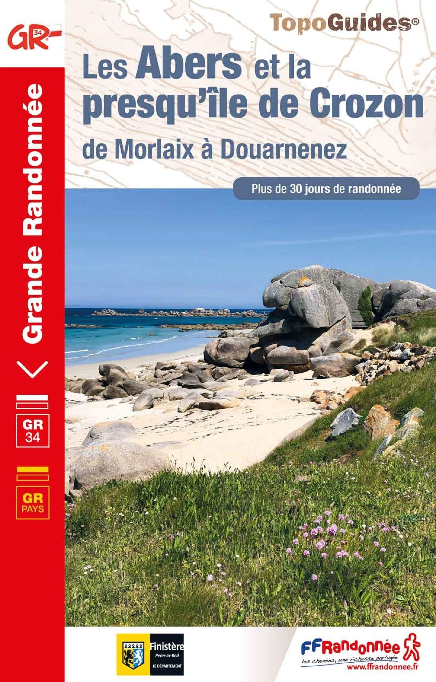 TG347  Pays des Abers, Chemin des Phares | wandelgids GR-34/GR-341 9782751410550  FFRP Topoguides  Meerdaagse wandelroutes, Wandelgidsen Bretagne
