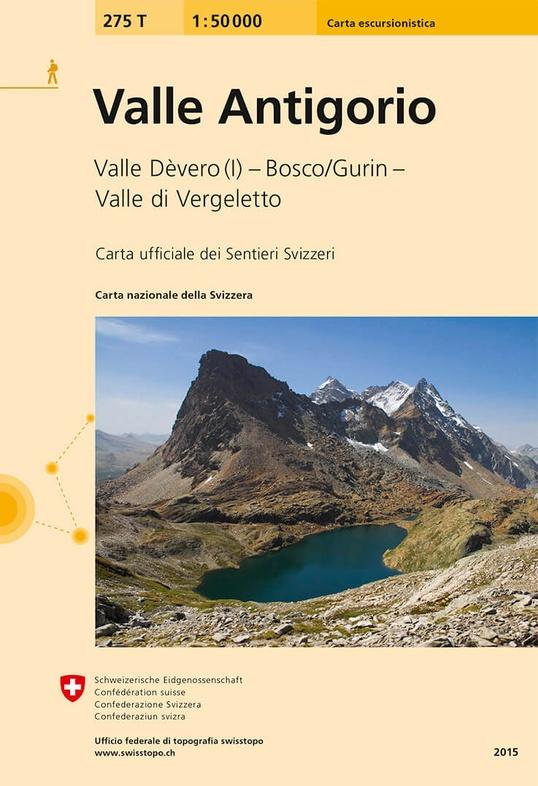 275T  Valle Antigorio [2015] 9783302302751  Bundesamt / Swisstopo SAW 1:50.000  Wandelkaarten Turijn, Piemonte