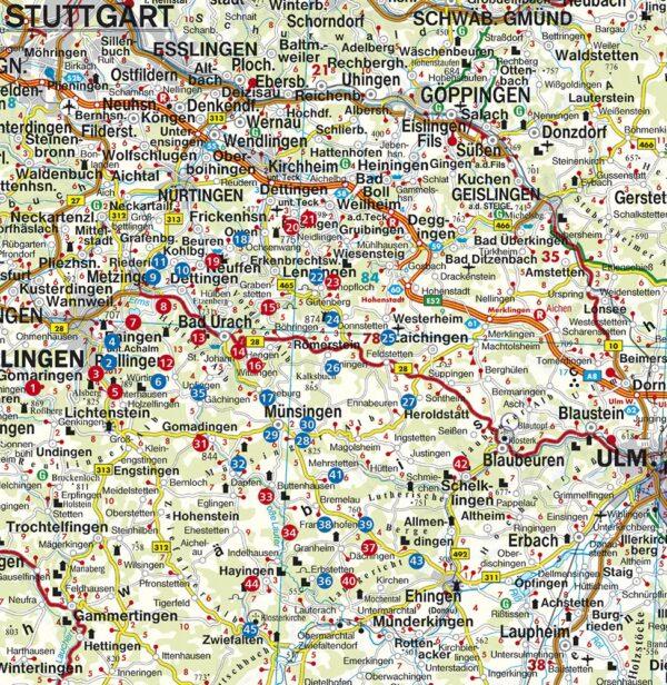 Biosphärengebiet Schwäbische Alb Rother Wanderbuch | wandelgids 9783763331741  Bergverlag Rother Rother Wanderbuch  Wandelgidsen Bodenmeer, Schwäbische Alb