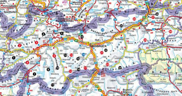 Wochenendtouren Tirol Rother Wanderbuch | wandelgids 9783763332052  Bergverlag Rother Rother Wanderbuch  Klimmen-bergsport, Wandelgidsen Tirol & Vorarlberg