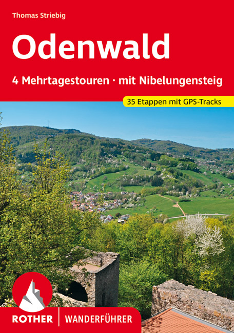 Rother wandelgids Odenwald Mehrtagestouren | Rother Wanderführer 9783763345441  Bergverlag Rother RWG  Meerdaagse wandelroutes, Wandelgidsen Franken, Nürnberg, Altmühltal, Odenwald, Spessart en Rhön