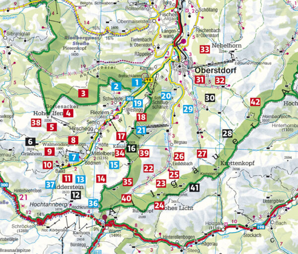 Rother wandelgids Kleinwalsertal | Rother Wanderführer 9783763345595  Bergverlag Rother RWG  Wandelgidsen Beierse Alpen, Tirol & Vorarlberg