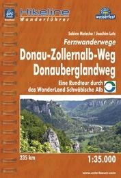 Hikeline Donau-Zollernalb-Weg, Donauberglandweg 9783850005371  Esterbauer Hikeline wandelgidsen  Meerdaagse wandelroutes, Wandelgidsen Bodenmeer, Schwäbische Alb