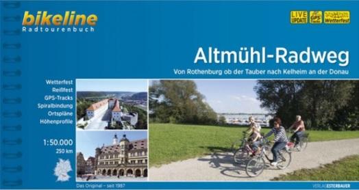 Bikeline Altmühl-Radweg  (230 km) | fietsgids 9783850008259  Esterbauer Bikeline  Fietsgidsen Franken, Nürnberg, Altmühltal