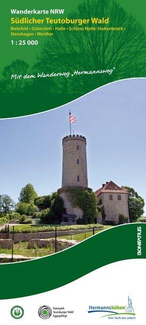 Südlicher Teutoburger Wald | wandelkaart 1:25.000 9783897105331  Bonifatius Grüne Reihe  Wandelkaarten Teutoburger Woud & Ostwestfalen