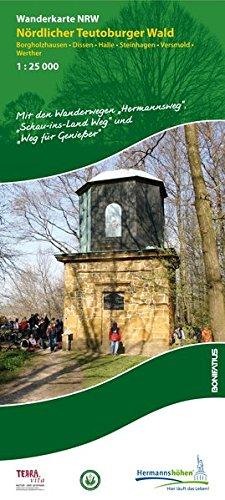 Nördlicher Teutoburger Wald | wandelkaart 1:25.000 9783897105348  Bonifatius Grüne Reihe  Wandelkaarten Teutoburger Woud & Ostwestfalen