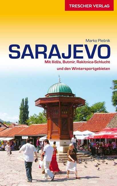 Sarajevo | Trescher reisgids 9783897944923  Trescher Verlag   Reisgidsen Servië, Bosnië-Hercegovina, Macedonië, Kosovo, Montenegro