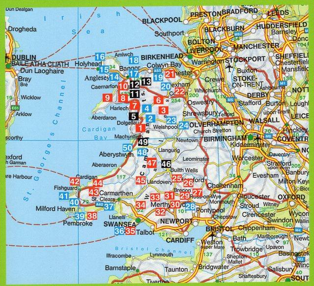 Wales | Rother Wandelgids 9789038926933  Elmar RWG  Wandelgidsen Wales