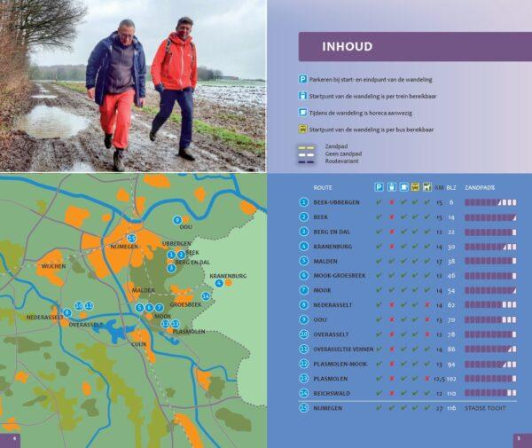 Wandelen in het Rijk van Nijmegen | wandelgids 9789078641834 Rob Wolfs en Rutger Burgers Gegarandeerd Onregelmatig   Wandelgidsen Nijmegen en het Rivierengebied