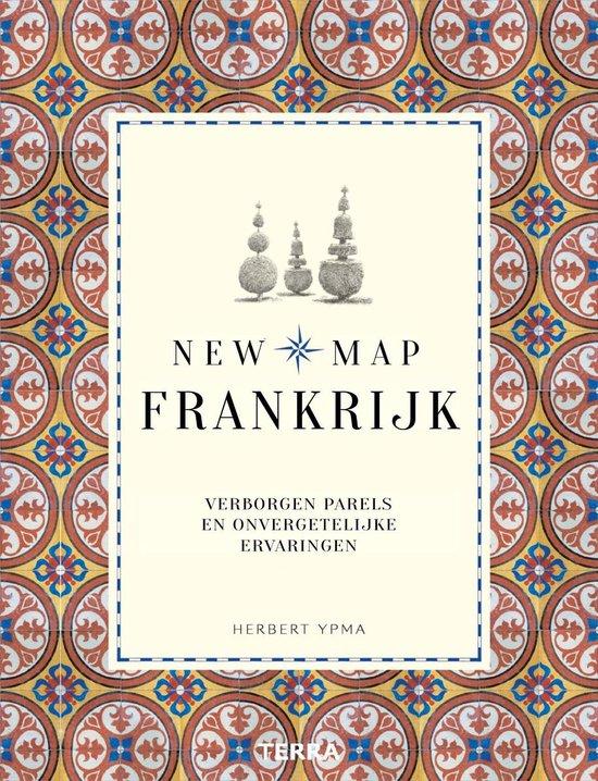New Map Frankrijk | Herbert Ypma 9789089898135 Herbert Ypma Terra   Reisgidsen Frankrijk