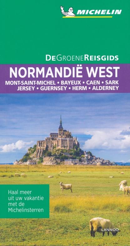 Normandie, West- | Michelin reisgids 9789401465250  Michelin Michelin Groene gidsen  Reisgidsen Normandië