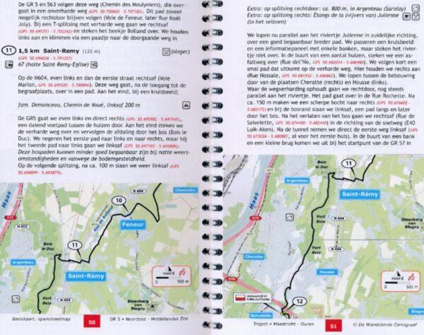 GR-5/E2 traject 1: Ardennen 421449504544  De Wandelende Cartograaf   Meerdaagse wandelroutes, Wandelgidsen Wallonië (Ardennen)