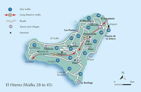 La Gomera & El Hierro Walking Guide | wandelgids 9781852848415 Paddy Dillon Cicerone Press   Meerdaagse wandelroutes, Wandelgidsen El Hierro, La Gomera