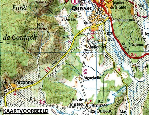 SV-137  Besançon, Montbéliard | omgevingskaart / fietskaart 1:100.000 9782758547594  IGN Série Verte 1:100.000  Fietskaarten, Landkaarten en wegenkaarten Franse Jura