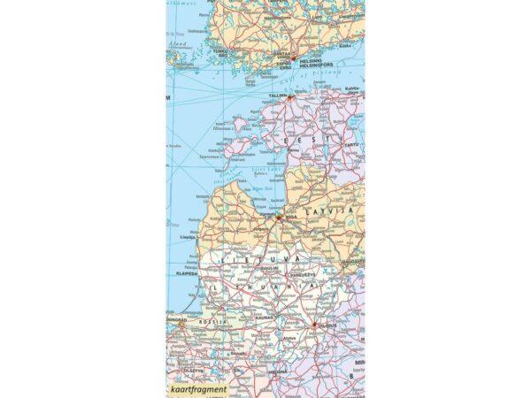 Europa 1:4.500.000 - physikalische Karte (natuurkundig) 9783259014264  Kümmerly & Frey   Landkaarten en wegenkaarten Europa