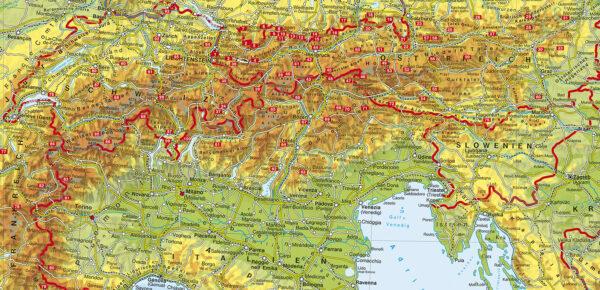 Rother Jubiläums-Wanderführer Alpen 9783763332076  Bergverlag Rother RWG  Wandelgidsen Zwitserland en Oostenrijk (en Alpen als geheel)