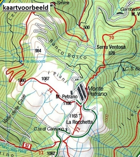 KP-2464  Perugia - Assisi - Gubbio 1:50.000 | Kompass wandelkaart 9783990447444  Kompass Wandelkaarten Kompass Italië  Wandelkaarten Umbrië
