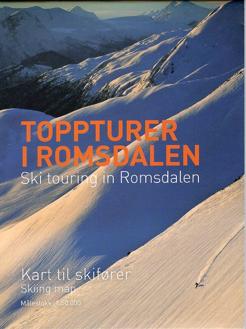 UG-2728  Romsdalen ski-tourkaart 1:50.000 9788293090120  Nordeca / Ugland Skikart Norge  Wintersport Noorwegen boven de Sognefjord