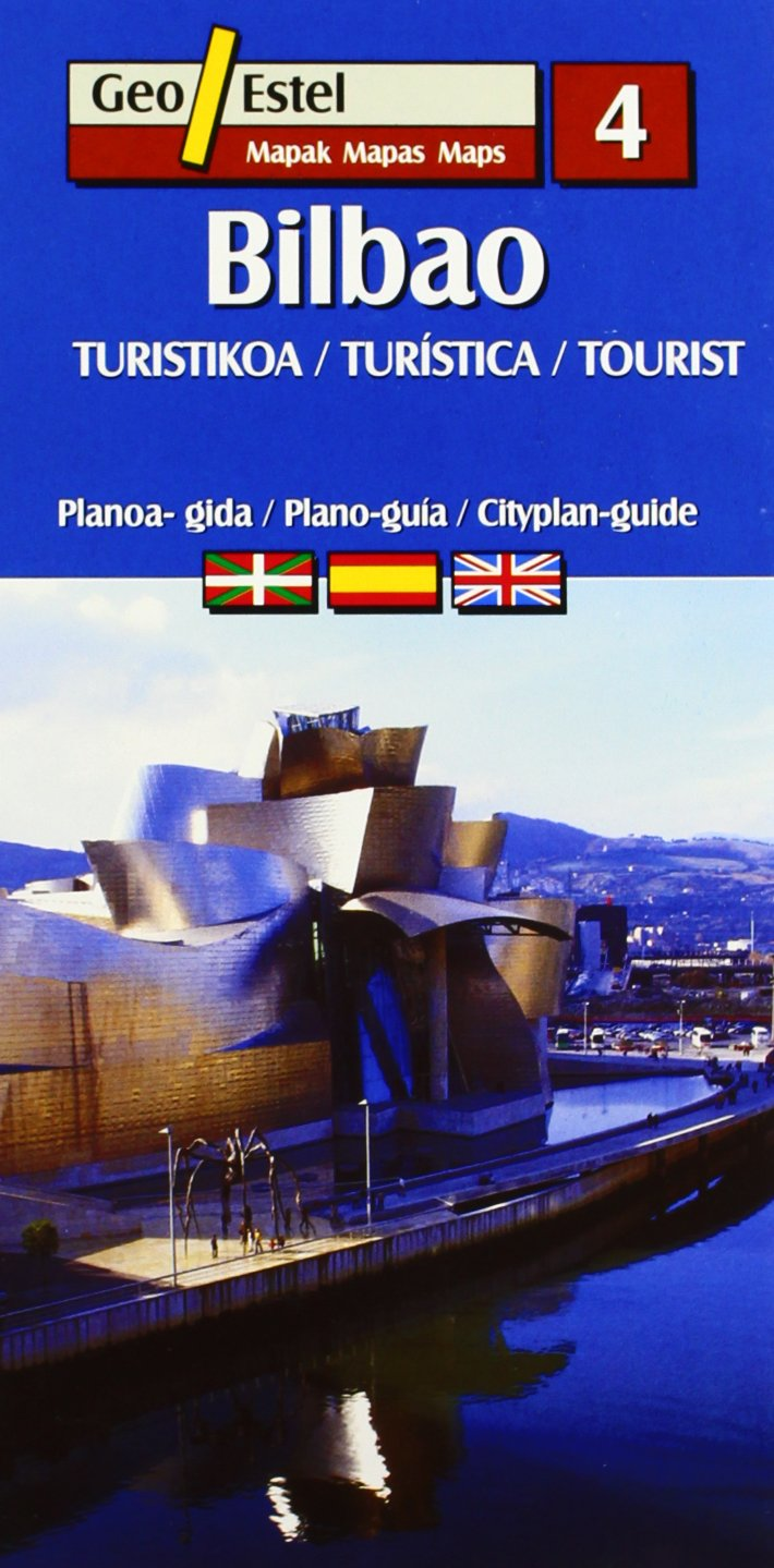 Bilbao | stadsplattegrond 1:8.000 9788496688230  Geo Estel   Stadsplattegronden Baskenland