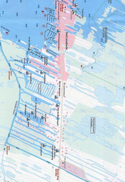 WTK-21 Vinkeveense en Loosdrechtse Plassen Waterkaart 9789018046163  ANWB ANWB Waterkaarten  Watersportboeken Den Haag, Rotterdam en Zuid-Holland