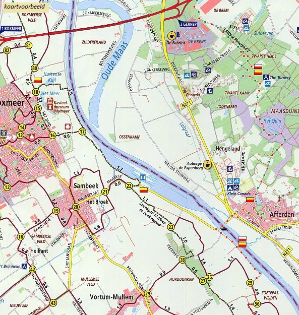 WRK-02 Gaasterland   ANWB wandelkaart 1:33.333 9789018046361  ANWB Wandelregiokaarten 1:33.333  Wandelkaarten Friesland