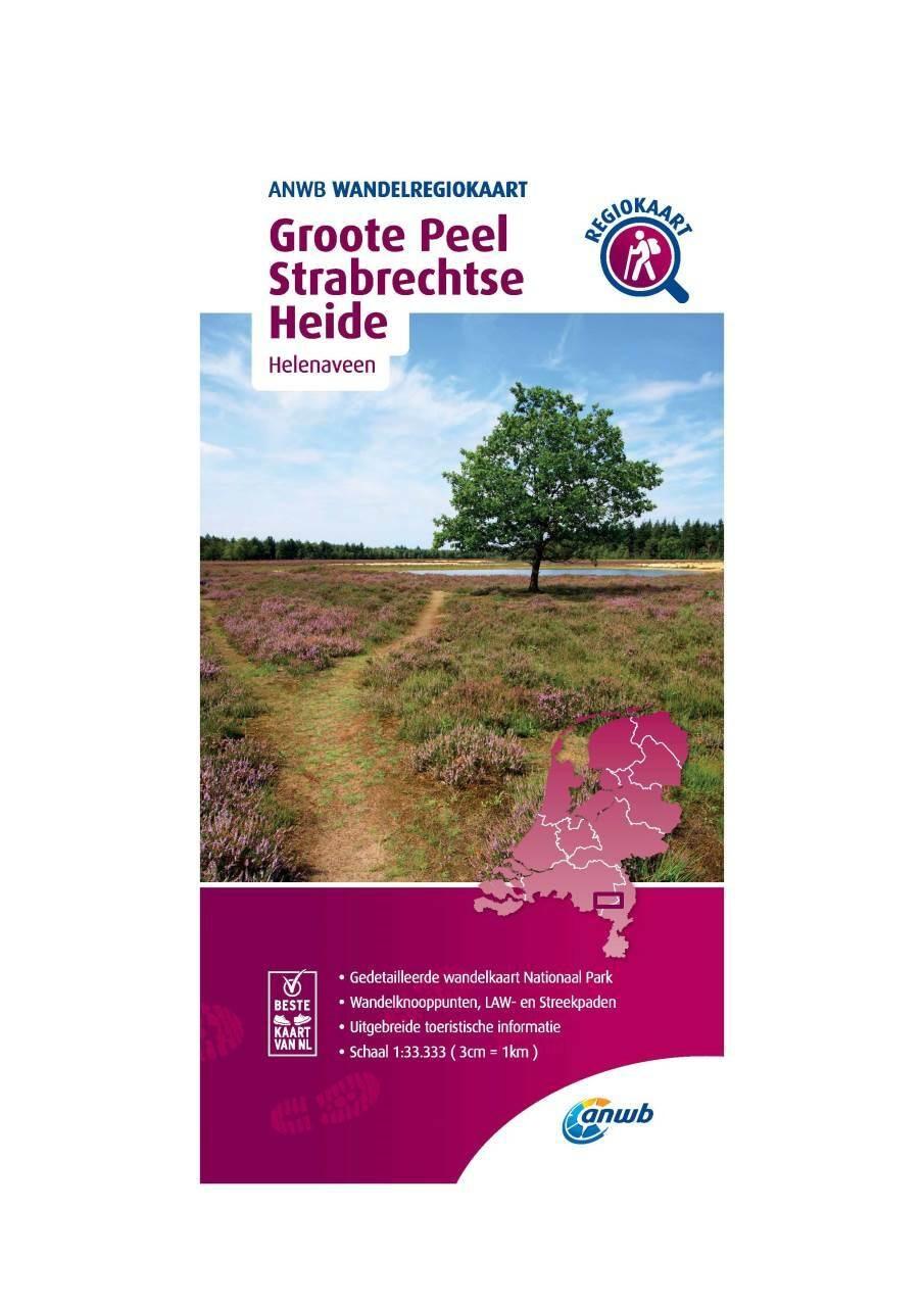 WRK-35 Groote Peel en Strabrechtse Heide | ANWB wandelkaart 1:33.333 9789018046699  ANWB Wandelregiokaarten 1:33.333  Wandelkaarten Noord- en Midden-Limburg, Noord-Brabant