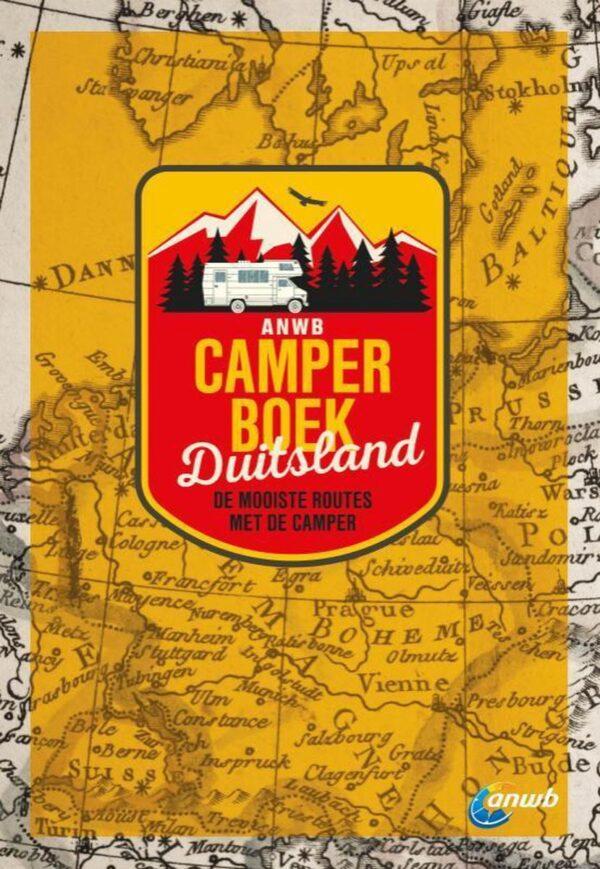 ANWB Camperboek Duitsland 9789018047801  ANWB ANWB Campinggidsen  Op reis met je camper, Reisgidsen Duitsland