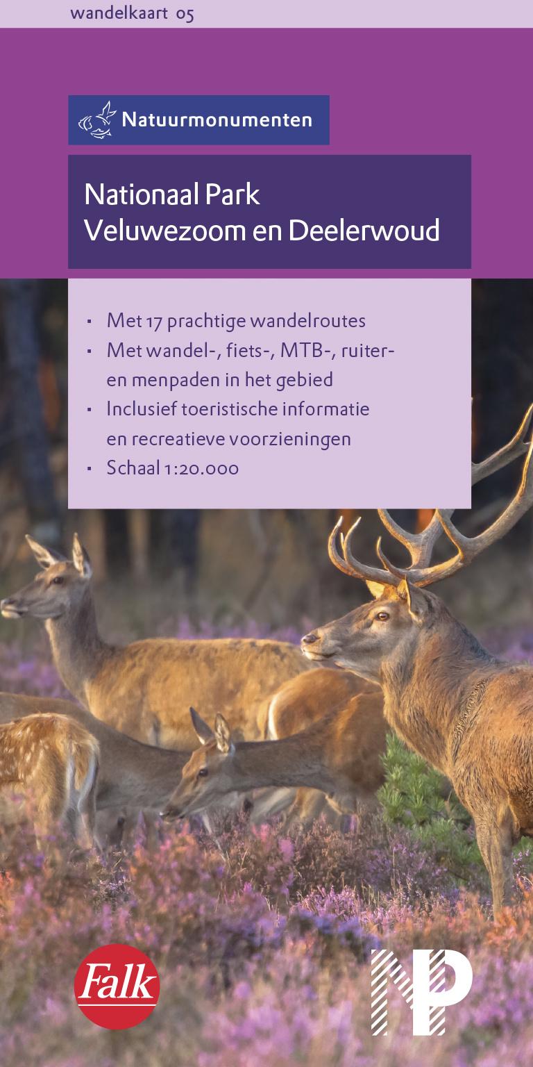 NM-05  Veluwezoom/ Deelerwoud 9789028703537  Natuurmonumenten Wandelkaarten 1:20d.  Wandelkaarten Arnhem en de Veluwe