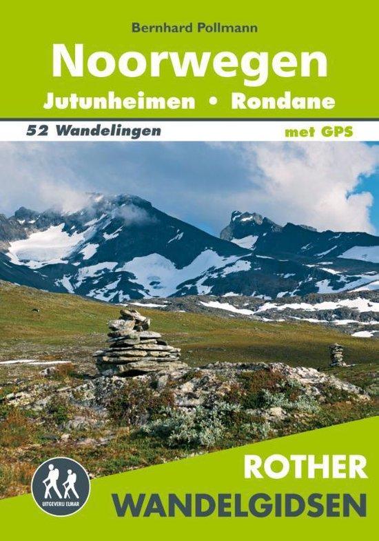 Noorwegen: Jotunheimen en Rondane  - Rother Wandelgids 9789038927183  Elmar RWG  Wandelgidsen Zuid-Noorwegen