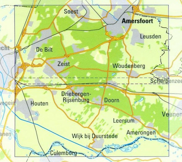 UH  Utrechtse Heuvelrug | Trage Paden wandelkaart 1:25.000 9789081396127 WolfsWandelplan De Noorderzon Trage Paden  Wandelkaarten Utrecht