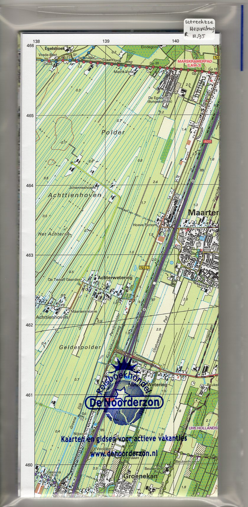 UH  Utrechtse Heuvelrug | Trage Paden wandelkaart 1:25.000 9789081396127 WolfsWandelplan Reisboekhandel De Noorderzon Trage Paden  Wandelkaarten Utrecht