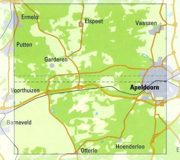 MV  Midden-Veluwe | Trage Paden wandelkaart 1:25.000 9789081396134 WolfsWandelplan De Noorderzon Trage Paden  Wandelkaarten Arnhem en de Veluwe