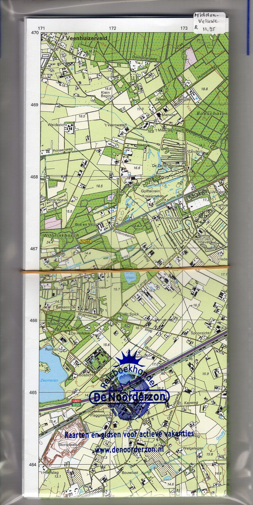 MV  Midden-Veluwe | Trage Paden wandelkaart 1:25.000 9789081396134 WolfsWandelplan Reisboekhandel De Noorderzon Trage Paden  Wandelkaarten Arnhem en de Veluwe