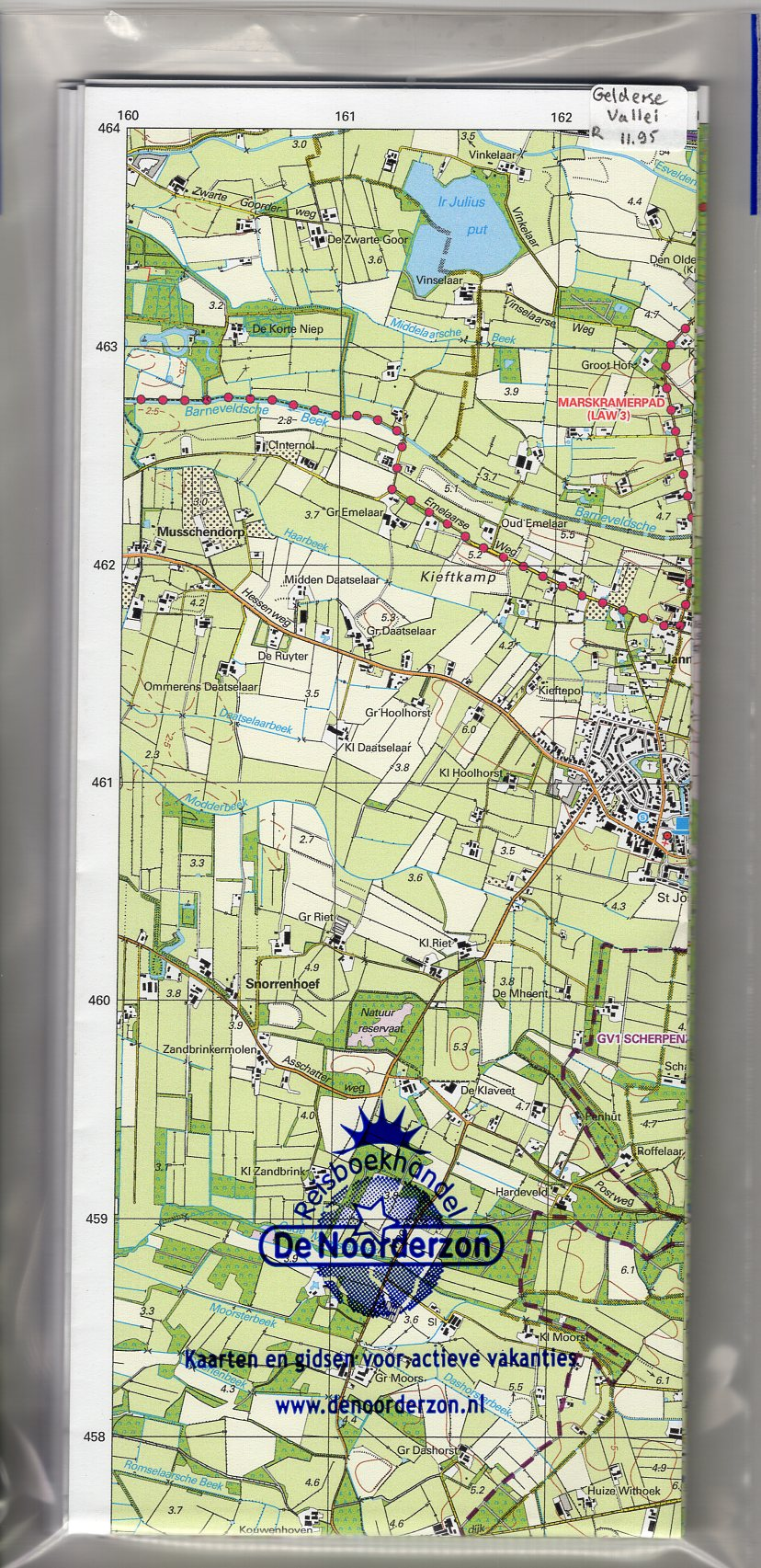 GV Gelderse Vallei | Trage Paden wandelkaart 1:25.000 9789081396165 Rob Wolfs /  www.WolfsWandelplan.nl De Noorderzon Trage Paden  Wandelkaarten Arnhem en de Veluwe