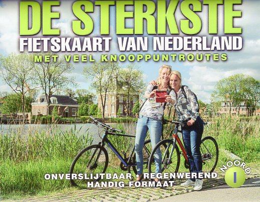 De Sterkste Fietskaart van NL (1:200.000): Noord en Midden 9789463690904  Buijten & Sch./Smulders DSF  Fietskaarten Nederland, Noord Nederland