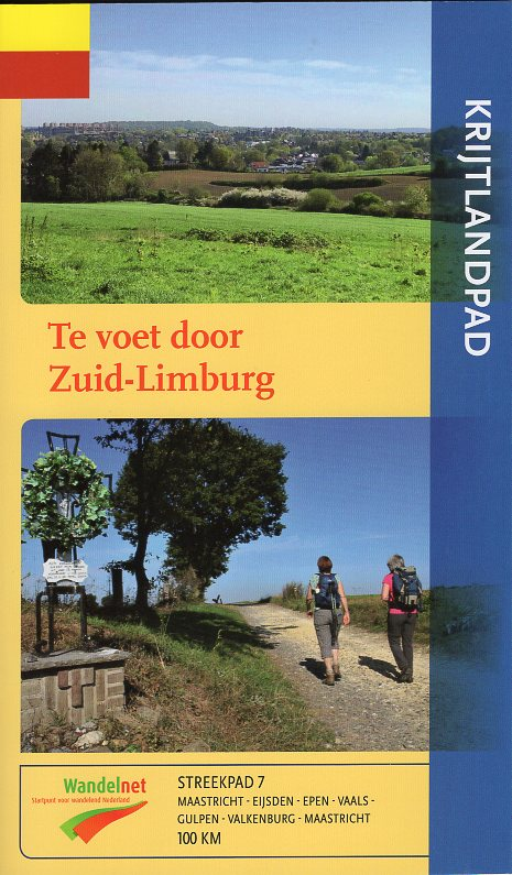 SP-07  Krijtlandpad | Streekpad 9789492641106  Wandelnet Streekpaden  Meerdaagse wandelroutes, Wandelgidsen Maastricht en Zuid-Limburg