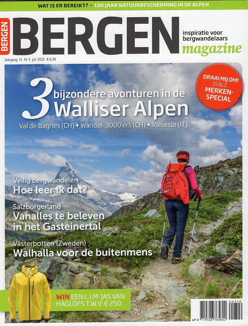 Bergen Magazine juli 2020 BM2020C  Tijdschriften, Virtu Media Bergen Magazine  Bergsportverhalen, Wandelreisverhalen Reisinformatie algemeen