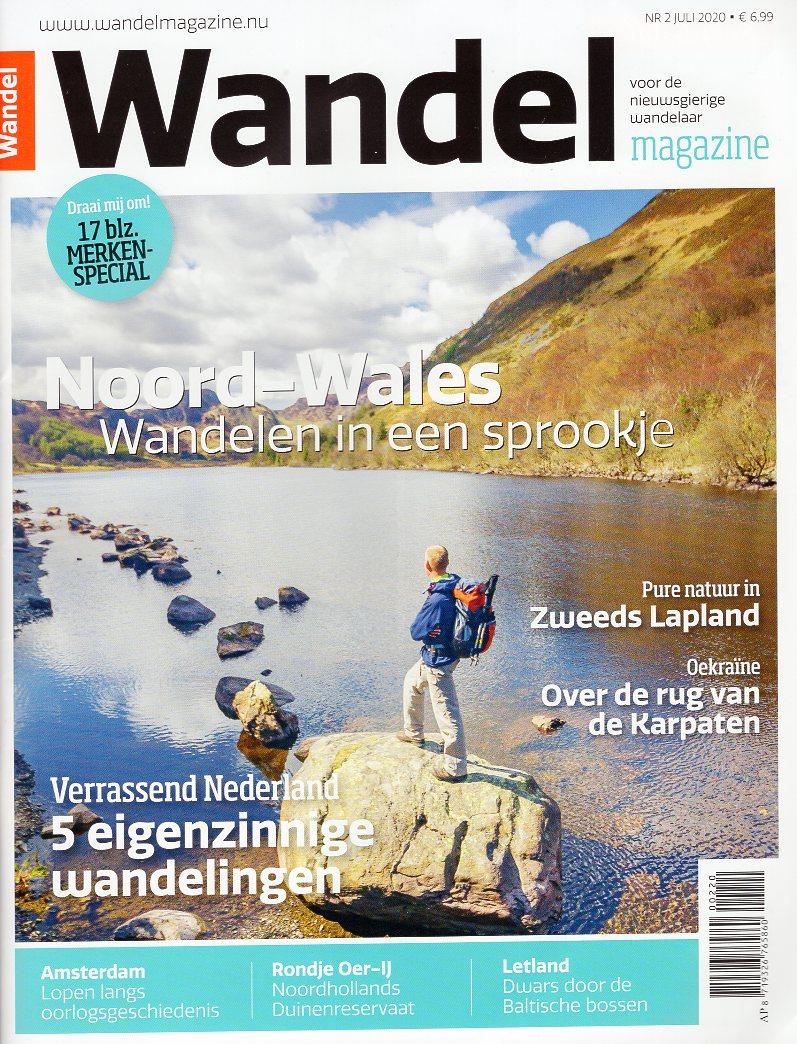 Wandelmagazine Juli  (2020 - 2) WM2020B  Virtu Media Tijdschriften  Wandelgidsen Reisinformatie algemeen