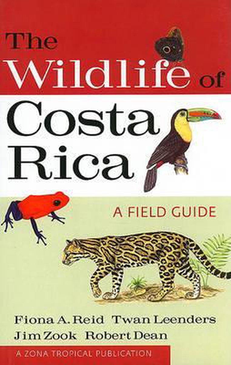 The Wildlife of Costa Rica: A Field Guide 9780801476105  A + C Black   Natuurgidsen Costa Rica
