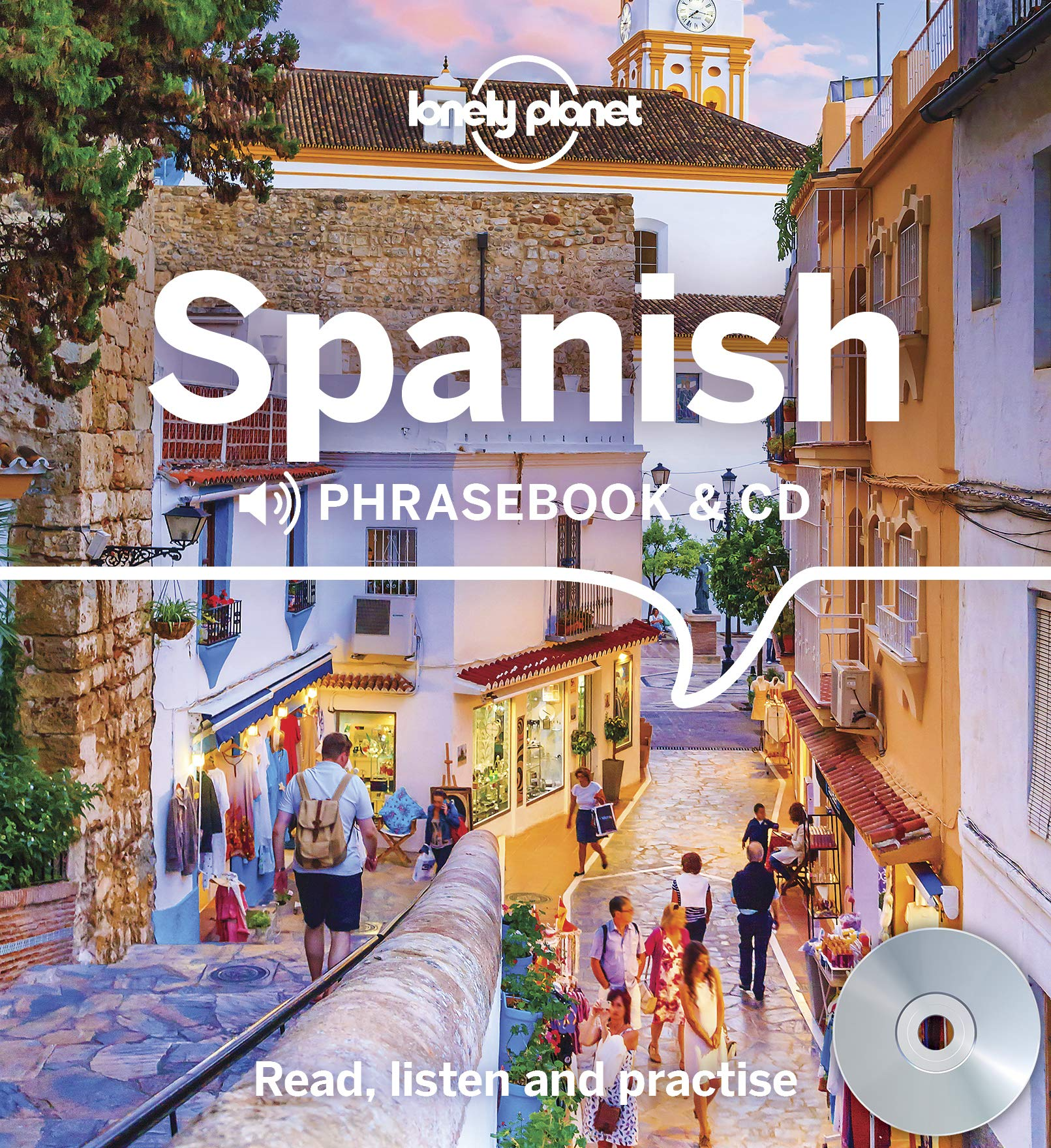Spanish phrase guide (with CD) 9781786571724  Lonely Planet Phrasebooks  Taalgidsen en Woordenboeken Spanje