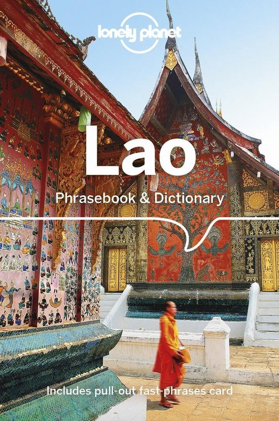 Lao  Lonely Planet phrasebook 9781786575876  Lonely Planet Phrasebooks  Taalgidsen en Woordenboeken Laos