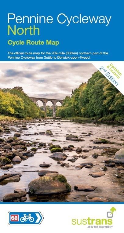 NN68 Pennine Cycle Way North 9781910845356  Sustrans Nat. Cycle Network  Fietsgidsen, Meerdaagse fietsvakanties Northumberland, Yorkshire Dales & Moors, Peak District, Isle of Man