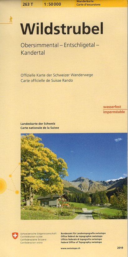 263T Wildstrubel [2019] 9783302302638  Bundesamt / Swisstopo SAW 1:50.000  Wandelkaarten Berner Oberland, Basel, Jura, Genève