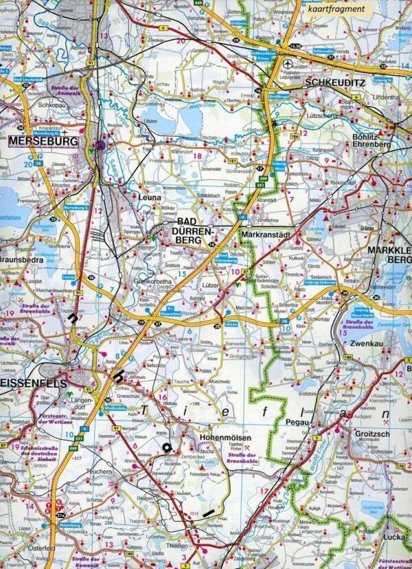 Sachsen, Thüringen, Hochfranken wegenkaart / overzichtskaart 1:150.000 9783707918083  Freytag & Berndt F&B deelkaarten Duitsland  Landkaarten en wegenkaarten Dresden