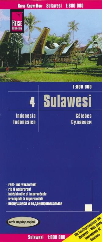 landkaart, wegenkaart Sulawesi 1:800.000 9783831774210  Reise Know-How WMP Polyart  Landkaarten en wegenkaarten Indonesië